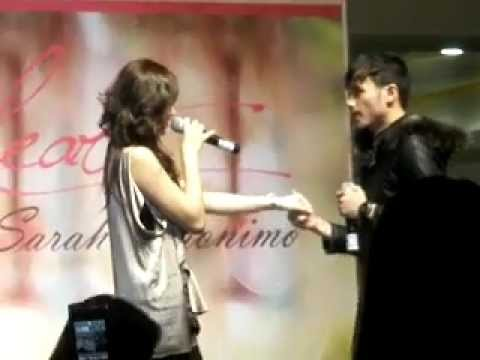 Bata - Sarah Geronimo ft. Kean Cipriano (SM Megamall One Heart Mall Tour) - July 31, 2011