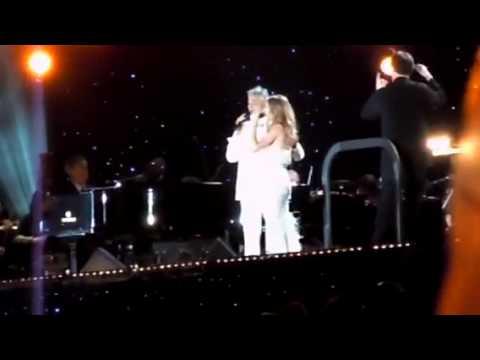 Andrea Bocelli & Celine Dion Central Park