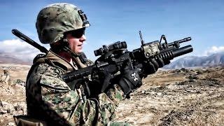 getlinkyoutube.com-Firing The M203 Grenade Launcher With M4 Carbine