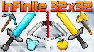 getlinkyoutube.com-★ [Review] InFinite 32x32 PvP Pack - Minecraft - 1.7 1.8 1.9 - Huahwi