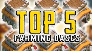 "getlinkyoutube.com-Clash Of Clans | ""TOP 5 BEST TOWN HALL 8 FARMING BASES 