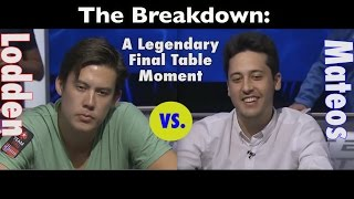 A Legendary Final Table Moment (Johnny Lodden vs. Adrian Mateos)