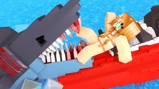 getlinkyoutube.com-Jaws Movie - The First Shark Attack! (Minecraft Roleplay) #1