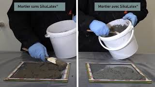 Sikalatex : agent d'adherence et additif pour mortiers