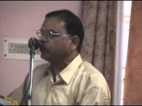 RAJ KUMAR ANJUM RECITING A GEET IN A MUSHIRA
