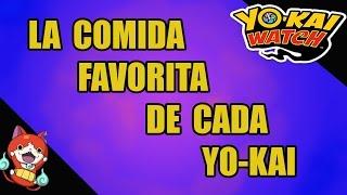 getlinkyoutube.com-Yo-Kai Watch: la comida favorita de cada Yo-kai (Nintendo 3DS)