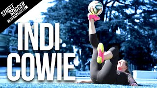 getlinkyoutube.com-Insane Football Skills - INDI COWIE - LA Part 2