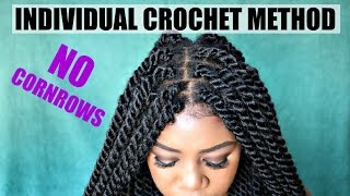 getlinkyoutube.com-DIY Individual Crochet Havana Twists | NO Cornrows! No Tension! Lightweight! Fast! Under 2 Hrs