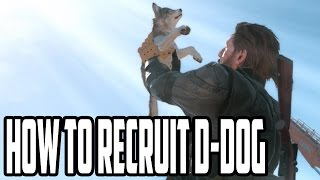 Metal Gear Solid 5 - How and Where To Find D-Dog - Most Adorable Buddy