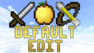 Minecraft PvP Texture Pack | CurtCo's Default Edit