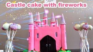 getlinkyoutube.com-PRINCESS CASTLE CAKE How To Cook That castle cake tutorial