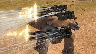 getlinkyoutube.com-Walking War Robots NEW Improved Molots and Punishers (Acceleration mode)