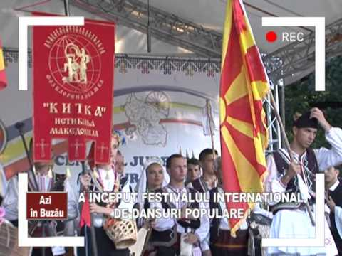 AZI IN BUZAU FESTIVALUL DE DANSURI INTERNATIONALE BUZAU
