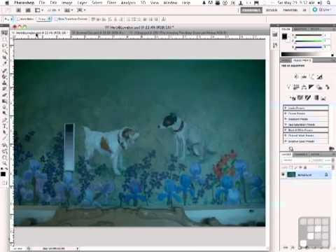 Photoshop Tutorial - Color Correction with a GrayScale Wedge