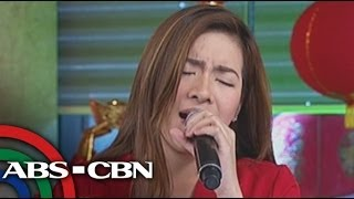 Angeline sings 'Legal Wife' theme song on 'UKG'
