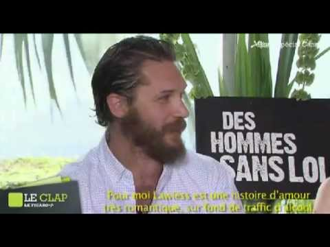 Tom Hardy & Jessica Chastain interviewed in Cannes