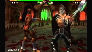 Mortal Kombat Armageddon-Sheeva Vs Shao Kahn