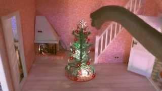 getlinkyoutube.com-DINO BLUES – music video for kids - Dinosaur Songs by Daddy Donut – Doll's House Brachiosaurus