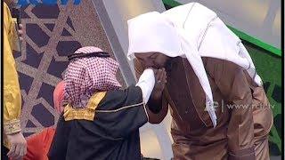 getlinkyoutube.com-Syekh Ali Jaber Cium Tangan Rasyid 7 Thn - Hafiz Indonesia 2014