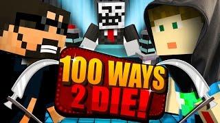getlinkyoutube.com-Minecraft: 100 WAYS TO DIE CHALLENGE - CRAINER DECIDES MY FATE!!