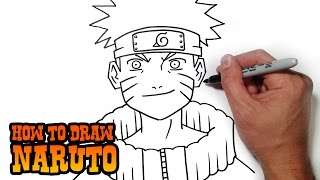 getlinkyoutube.com-How to Draw Naruto- Simple Video Lesson