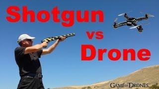 getlinkyoutube.com-Shotgun vs Drone Airframe - UAV Torture Test by Aerial Sports League