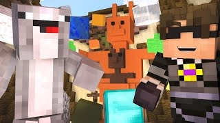 Minecraft TEAM BUILD BATTLE Mini-Game /w Facecam - ROSS WHY DO WE SUCK! ~ SkyDoesMinecraft