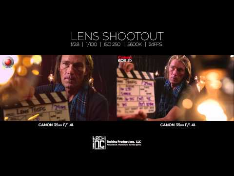 RED Scarlet-X + Canon 5D | 10 Lens Shootout