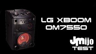 getlinkyoutube.com-LG XBOOM OM7550 - Juanmanuelijo TEST