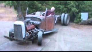getlinkyoutube.com-Flathead v12 (lincoln zephyr) Rat Rod Truck.mpg