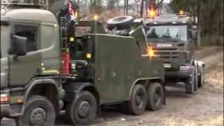 Scania dla wojska - prezentacja