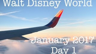 getlinkyoutube.com-Walt Disney World Vacation January 2017 : Day 1   Traveling To Walt Disney World (Episode 77)