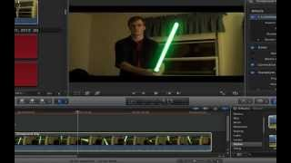 getlinkyoutube.com-Tutorial: Lightsaber Effect For Final Cut Pro X