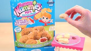 getlinkyoutube.com-Yummy Nummies Mini Chicken Nuggets Maker DIY Food for Kids
