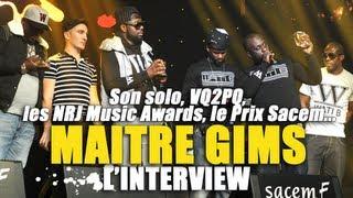 Maître Gims parle de son album solo, du titre VQ2PQ ...