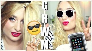 getlinkyoutube.com-GRWM   Q&A   KONKURS 💜