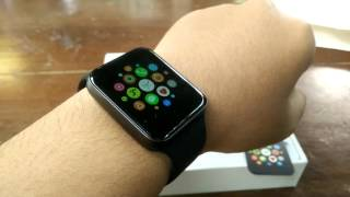 getlinkyoutube.com-Hands On Onix Wime Wi Watch A9,  coolest apple watch clone