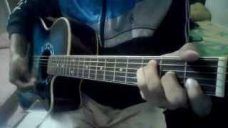 getlinkyoutube.com-Old School - Aaj raate kono rupkotha nei Guitar Lesson