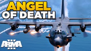 getlinkyoutube.com-ANGEL OF DEATH | ARMA 3 - AC-130 Spectre [USAF mod]