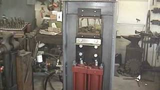 getlinkyoutube.com-Hydraulic Forging Press: Part 1