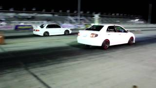 getlinkyoutube.com-Vios turbo VS evo3