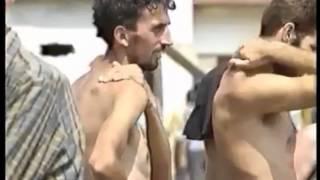getlinkyoutube.com-Genocidna Tvorevina (Republika Srpska) - Logori smrti u Prijedoru (Omarska,Trnopolje).