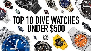 The Top 10 Best Value Professional Dive Watches Under $500 width=