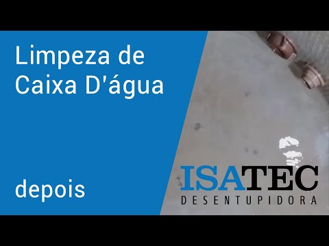 thumb Limpeza de Caixa d'Água Sorocaba: Depois - Isatec Desentupidora #2