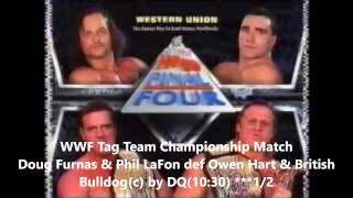WWF In Your House 13 Final Four