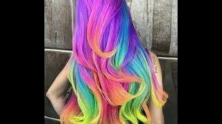 getlinkyoutube.com-como pintar o cabelo sem tinta
