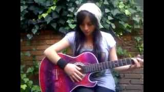 getlinkyoutube.com-Mi Corazón Encantado - Dragon Ball GT - M.E.G Melisa García Cover