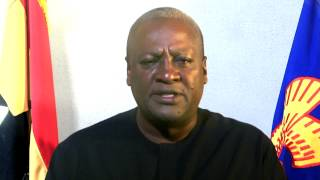 President John Mahama's 2014 New Year Message to Ghanaians