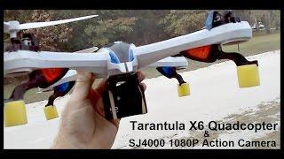 getlinkyoutube.com-Tarantula X6 Quadcopter & SJ4000 1080P Action Camera