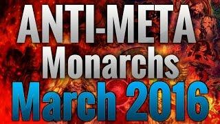 getlinkyoutube.com-[YGO] Anti-Meta Monarch Deck March 2016